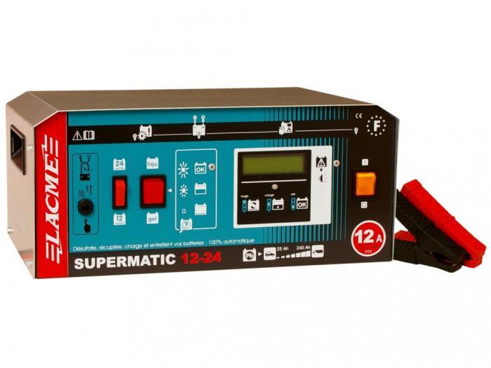Chargeur de batterie supermatic lacme - Maintien de charge batterie ...
